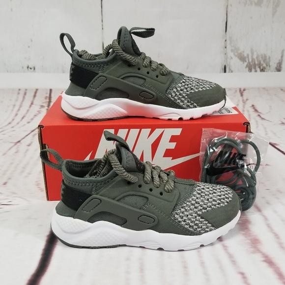 9df0482cd60a0 NIKE Huarache Run Ultra Boy s River Rock Sneakers